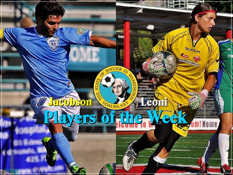 Players of the Week: Brad Jacobson, Ilaria Leoni