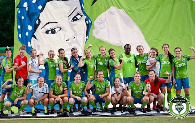 Sounders Women top Western Conference; forfeit makes next home match a playoffone
