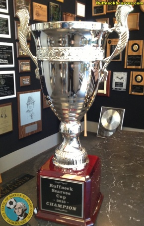 2013 Ruffneck Cup trophy debuts as race heats up