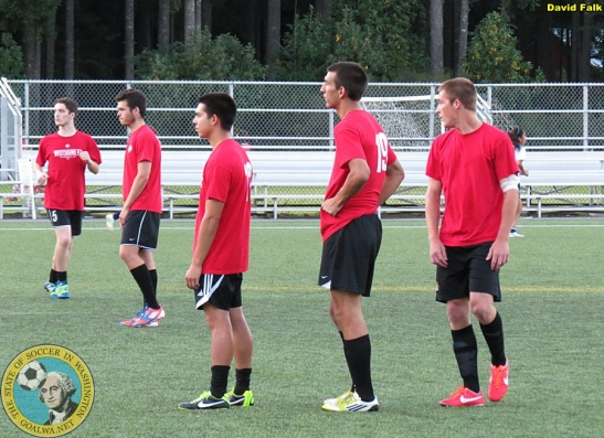 Local college-age men will be an ingredient in WestSound FC's 2014 roster. (David Falk)