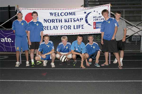 Select soccer players help raise $5,800 for Relay forLife
