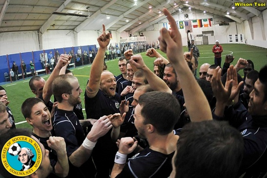 Northwest Indoor Champions the SSFC Shock will try to take their success outdoors in the EPLWA in 2014. (Wilson Tsoi)