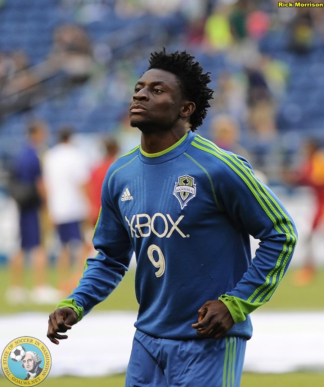 Sounders FC forward Obafemi Martins named MLS Player of ... Obafemi Martins Sounders