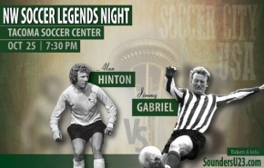 Northwest Soccer Legends Night players revealed