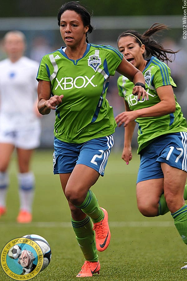 Sydney Leroux played for the Sounders Women in 2012. (Wilson Tsoi)