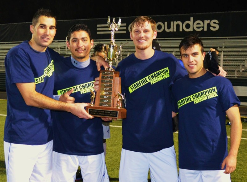 Seattle Stars FC win Starfire Premier Soccer League Fall Championship