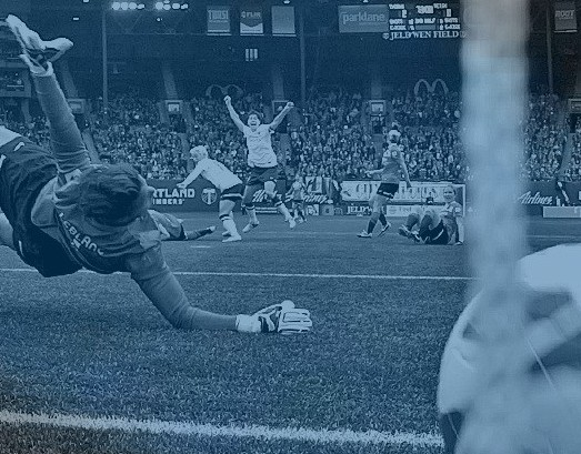 Photo of the Year: Wilson Tsoi shoots Reign FC goal at Portland Thorns