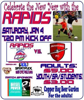 Big weekend of matches in PASL NW