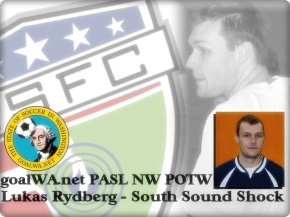 goalWA.net PASL NW Player of the Week: Lukas Rydberg, South Sound Shock