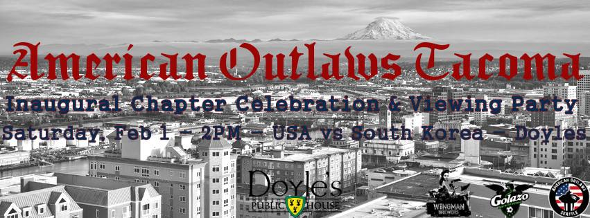 American Outlaws Tacoma hosting US Nats watch Saturday at Doyle's