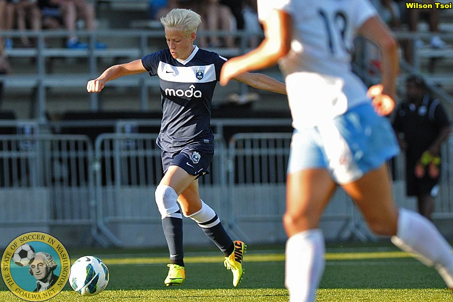 Rapinoe leaving Europe in time for Reign FC pre-season camp