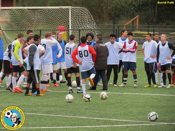 This was the scene at last year's Pumas Open Tryouts. (David Falk)