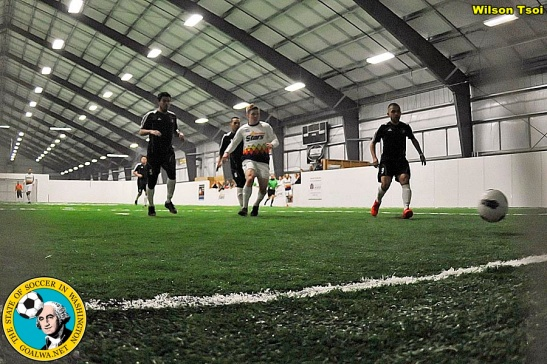 Soccer action from 2013 at Tacoma's Pacific Sports Center. (Wilson Tsoi)
