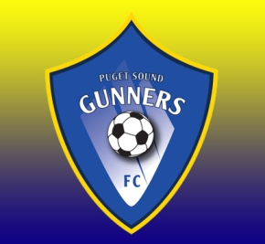 Puget Sound Gunners (formerly SeaWolves FC) announce tryouts, newlogo