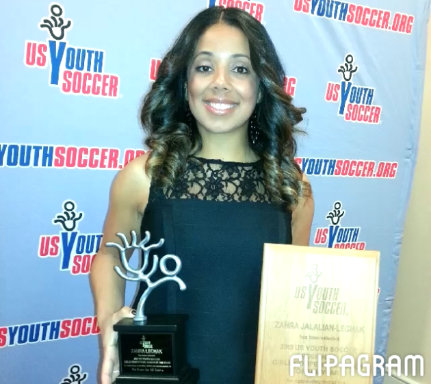 Zahra Lechak Named U.S. Youth Soccer Girls Coach of the Year