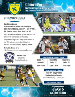 Eagleclaw Academy brings Italian camp to Starfire thissummer
