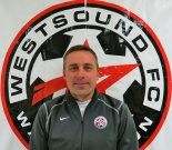 Keith Sargent, head coach of the WestSound FC Men. (David Falk)
