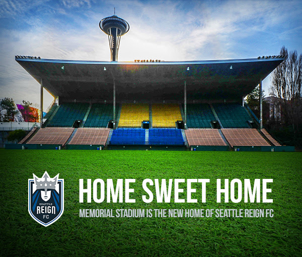 Reign FC move into the city, sign Memorial Stadium deal