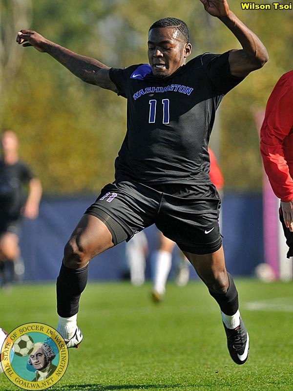 Darwin Jones: from Sounders Academy to Washington Huskies star. (Wilson Tsoi)