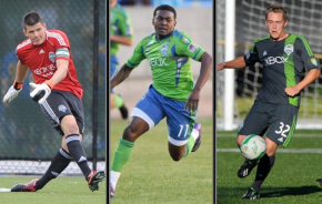 Local stars return to Sounders U23