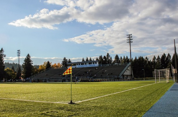 Spokane Falls Community College stadium. (Colton McCoy)
