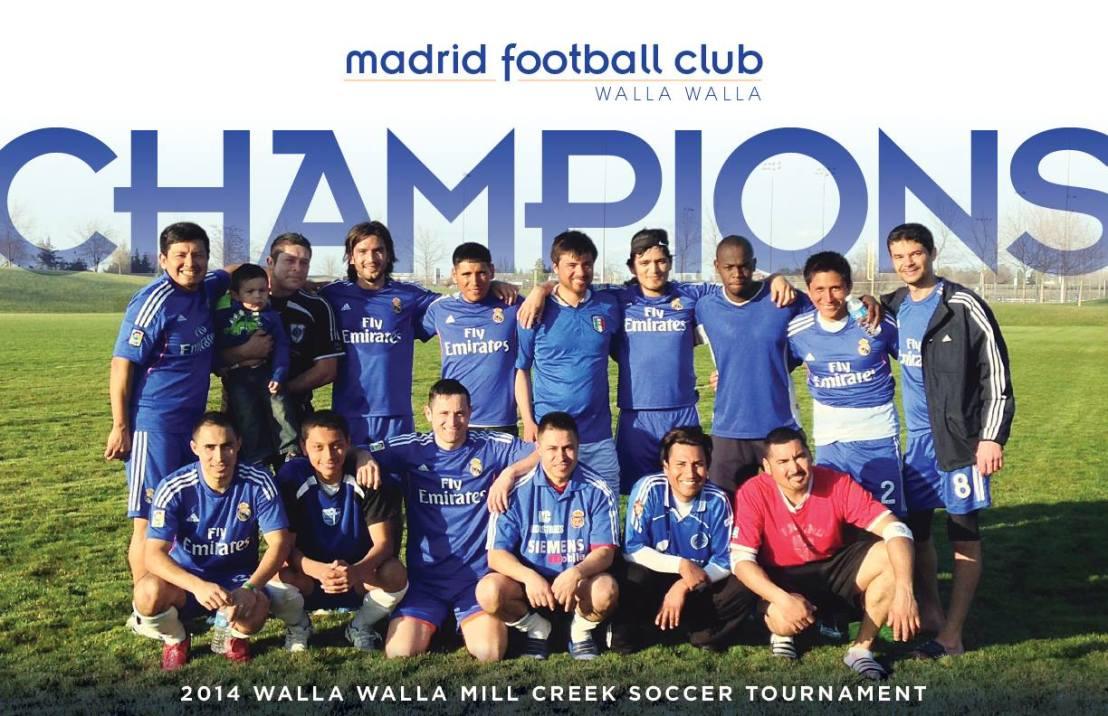 Madrid FC of Walla Walla wins Mill CreekTournament