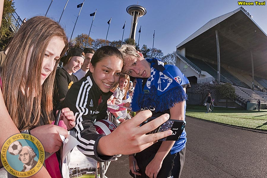 Reign home opener April 12 against Wambach and Flash
