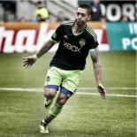 Clint Dempsey scored a hat trick as Seattle came back to draw at Portland on Saturday. (SoundersFC.com photo)