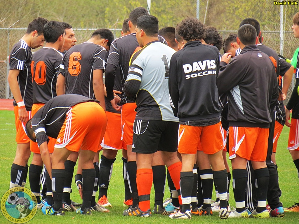 Guess who's number one this week in 4A? Yakima's Davis High Pirates. (David Falk)