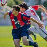 Seattle University Redhawks men's soccer defeats Gonzaga 1-0 at Championship Field