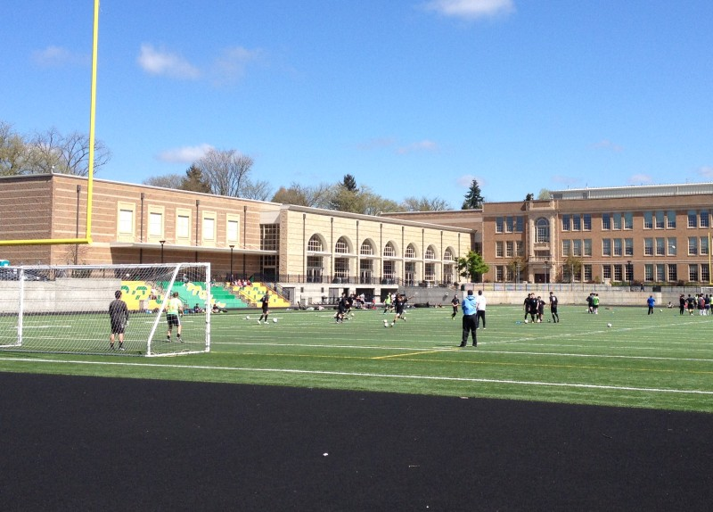 Roosevelt High School was the unlikely scene of the first-ever EPLWA pre-season victory.