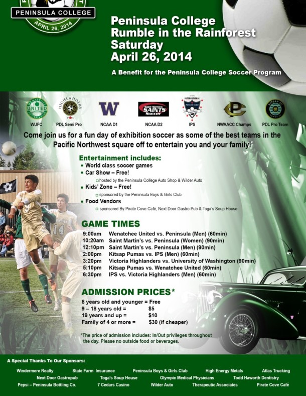 Rumble in the Rainforest Flyer 2014 -900