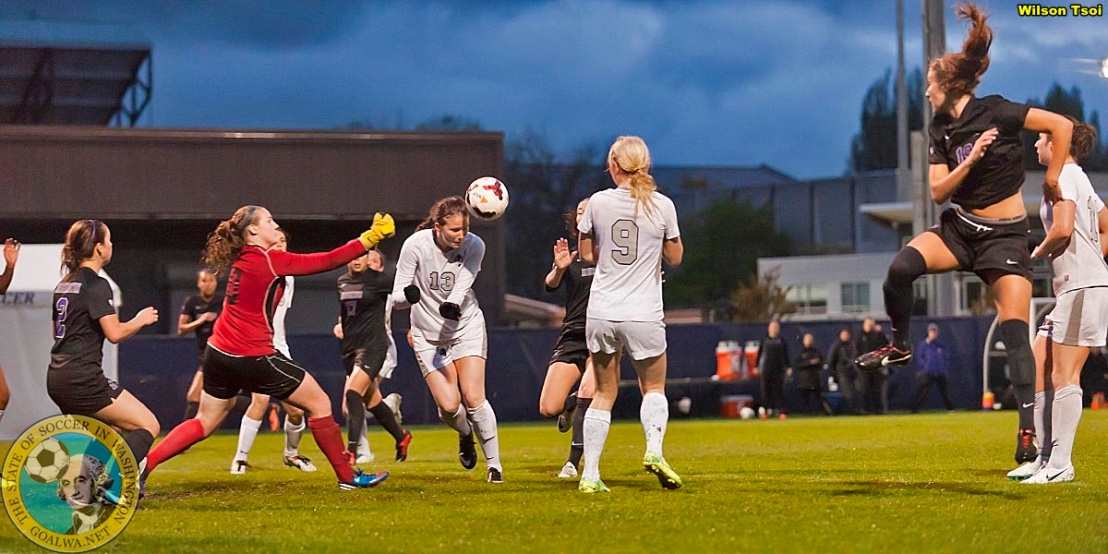 Washington women's soccer defeats Western Washington 2-0 at Husky Soccer Stadium