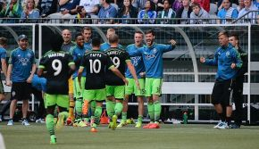 Sounders benefit from late call in tie at Vancouver
