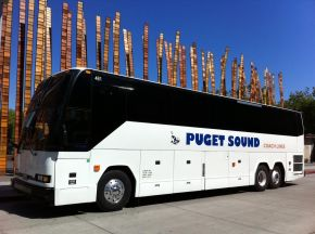 Puget Sound Gunners FC partners with Puget Sound Coach Lines