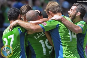 Sounders deliver message, first loss to RSL