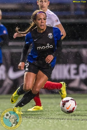 Leroux is NWSL Player of Week, Reign-Thorns kick off timechanged