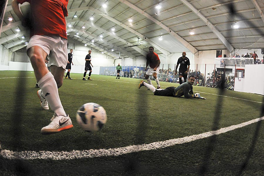 The Shock and Rapids have an already-established indoor rivalry that will continue in the WISL. (Wilson Tsoi)