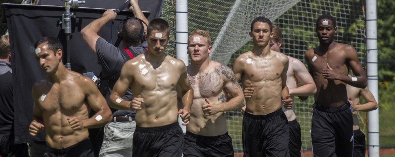 Vancouver Victory FC players in Gatorade commercial shoot (video, pics)
