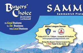 Puget Sound Gunners partner with Buyers' Choice for June 27 promotion