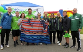 Sounders celebrate with Muckleshoot Tribe