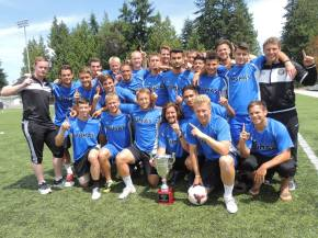 Pumas receive Ruffneck Cup trophy before playoffspractice