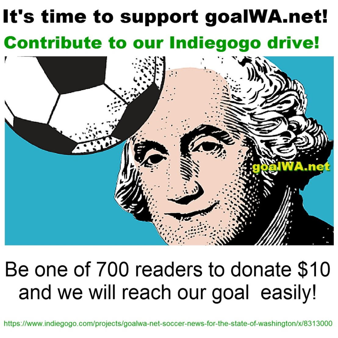 Support goalWA.net: Donate to our Indiegogocampaign!