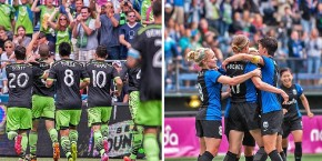 Picture Perfect: Wilson's Weekend shooting Sounders-Spurs and Reign-Red Stars
