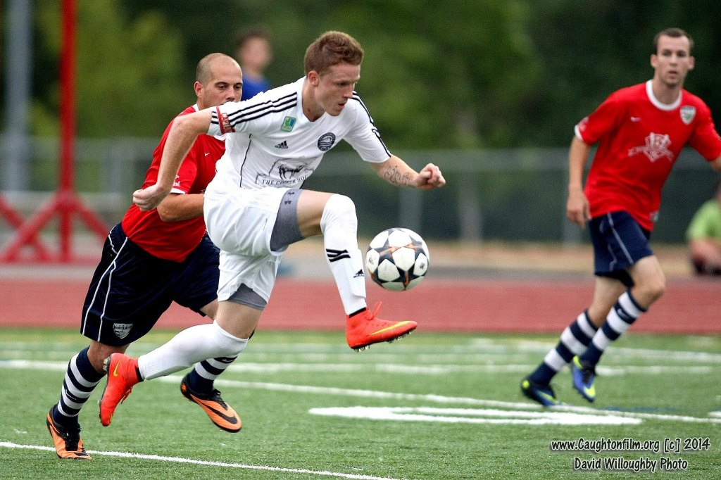 TYler Bjork led the EPLWA in goals with 13 for Bellingham in the first season of the new league. (David Willoughby)