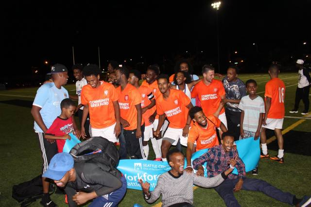 Iftin FC are Somali Week Champions. (SomTV of Seattle Facebook)
