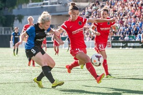 Reign visit Portland for regular season finale on Sunday
