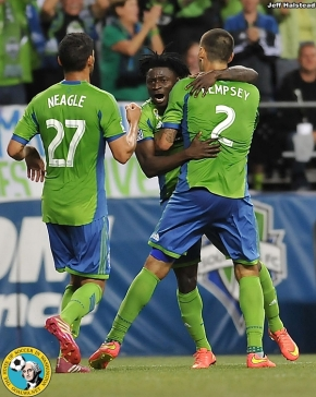 Sounders nip RSL in Friday night thriller