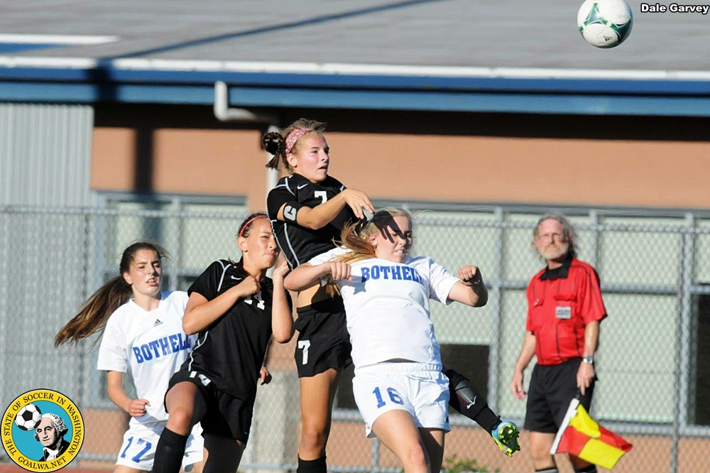 Picture Perfect: KingCo Girls scrimmage ahead ofseason