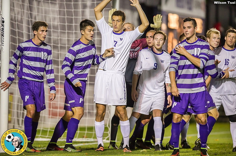 Men's Soccer, Washington at Portland